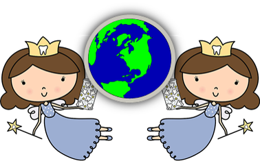 World Federation of Tooth Fairies Logo
